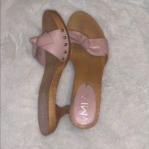 Mia Light Pink Sandal Heels